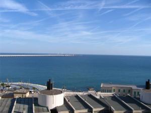 Vista panoramica di Manfredonia